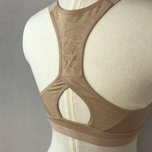 35d2db07ed8df Victoria s Secret Intimates   Sleepwear - VSX 34DD nude sports bra with zipper  front